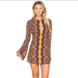 Free People Ossie Vibes Printed Tunic Dress